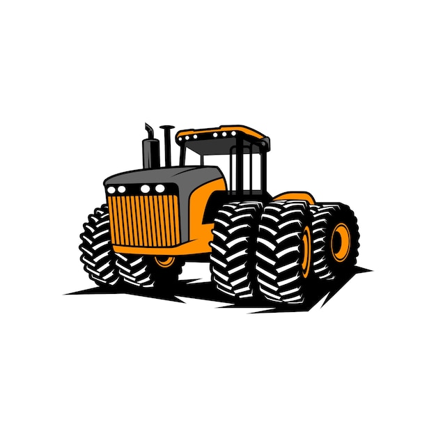 Tracteur 01 Vecteur Premium