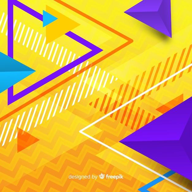 Triangle entre parenthèses Vecteur gratuit