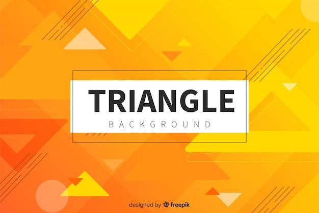 Triangle memphis fond Vecteur gratuit