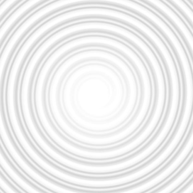 Tunnel Abstrait Rayé En Spirale De Cercle Gris. Et Comprend également Vecteur Premium