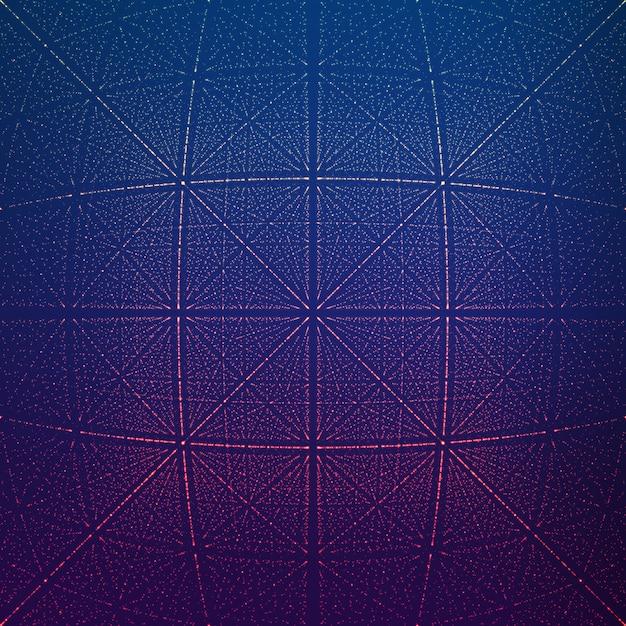 Tunnel Rhombique Infini De Vecteur De Fusées éclairantes Vecteur gratuit