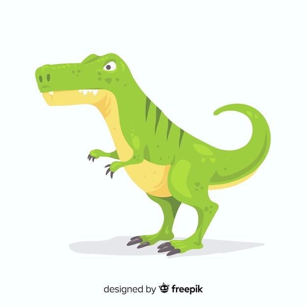 Tyrannosaurus rex Vecteur gratuit