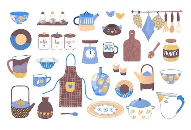Ustensiles De Cuisine Decoratifs Pour La Cuisson Collection D