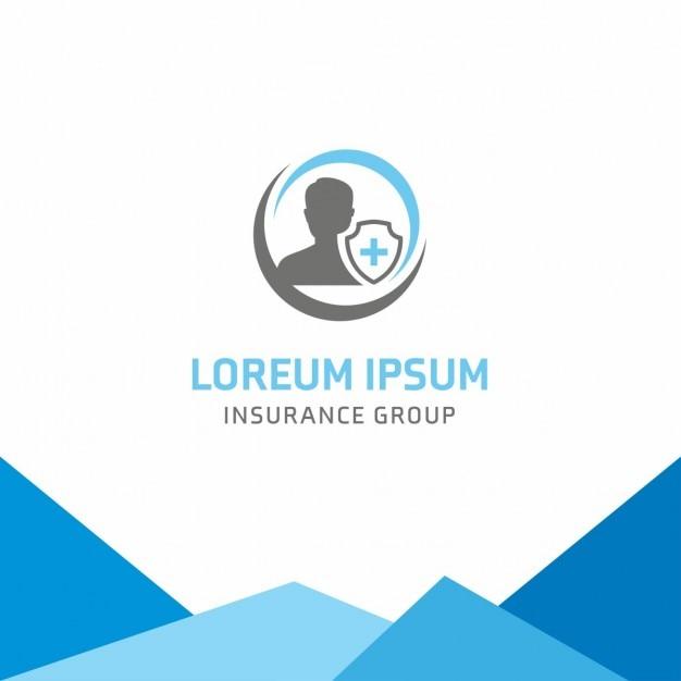 utilisateur d u0026 39 assurance maladie logo template