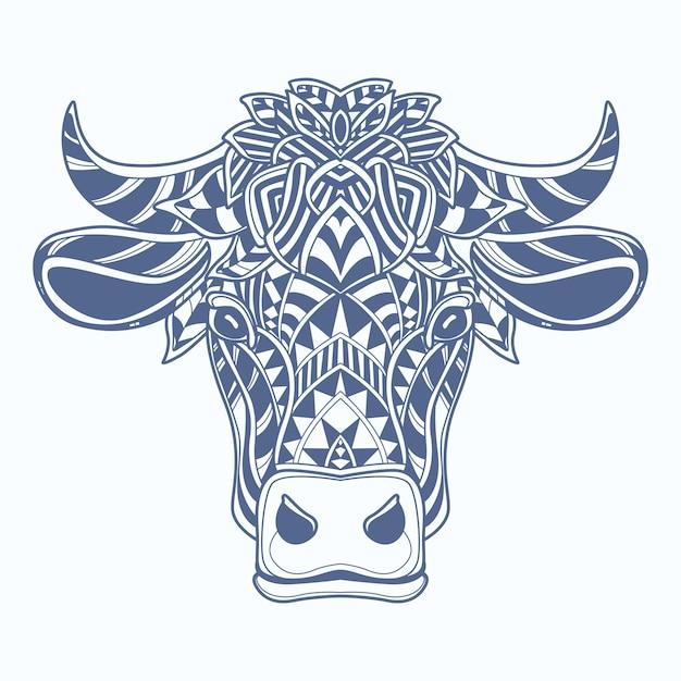 Vache Vecteur Premium
