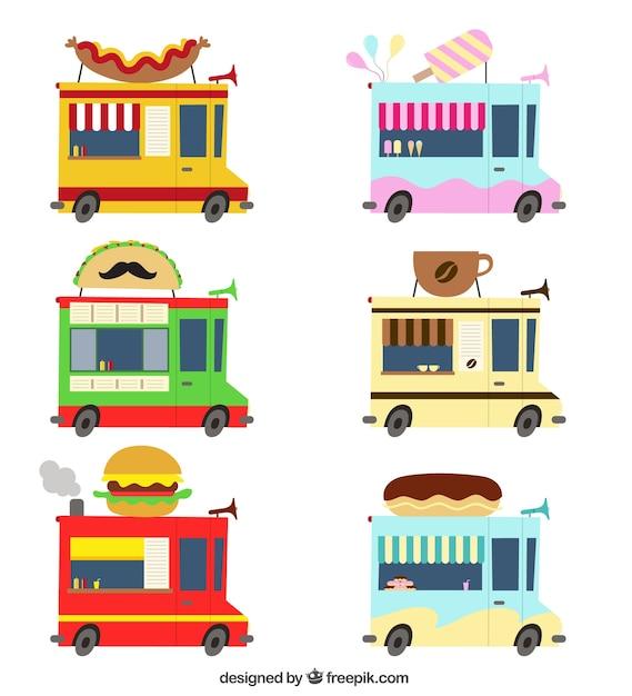 Dessin De Gateaux Pour Un Food Truck