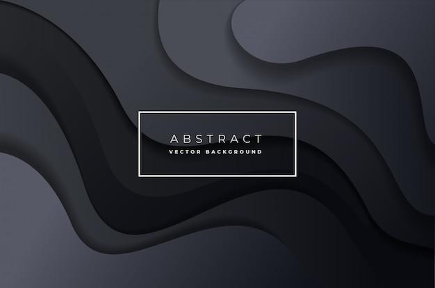 Vecteur abstrait dynamique Vecteur Premium