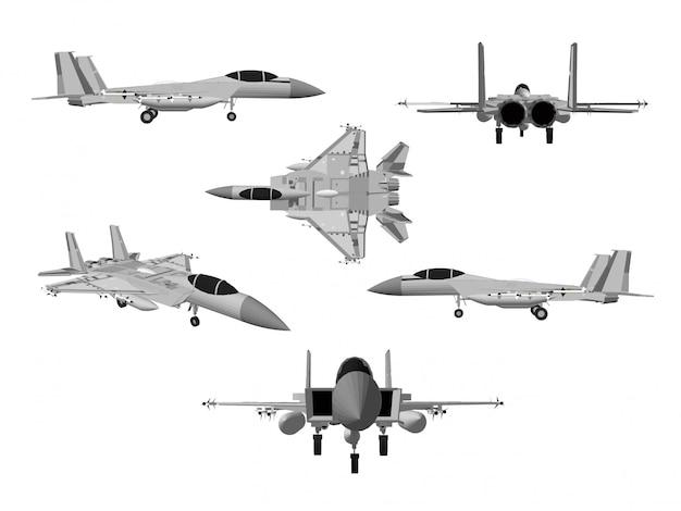 Vecteur avion Vecteur Premium