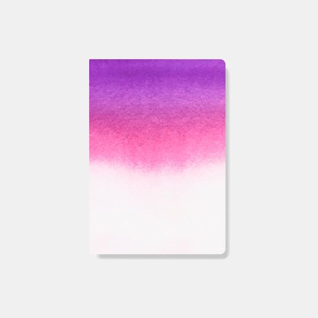 Vecteur De Carte Style Aquarelle Rose Vecteur gratuit