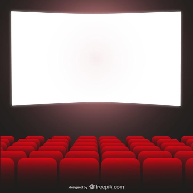 Vecteur cinéma art Vecteur gratuit