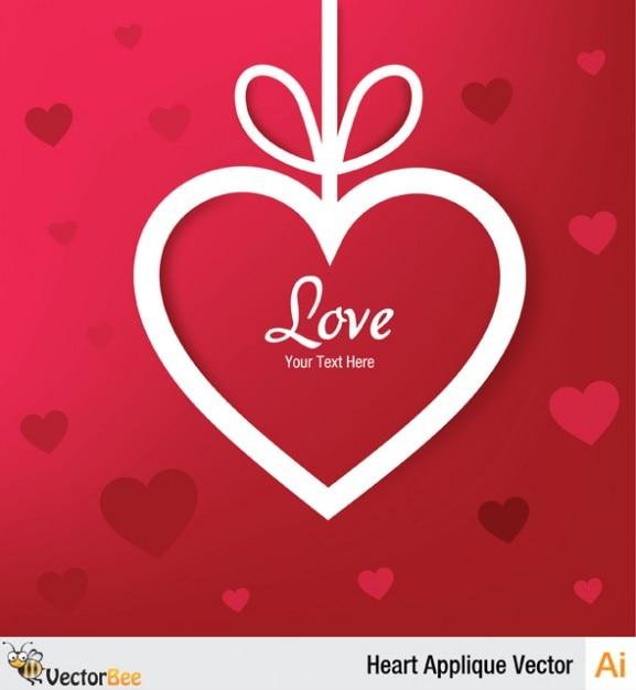 vecteur coeur saint valentin carte de voeux t l charger des vecteurs gratuitement. Black Bedroom Furniture Sets. Home Design Ideas