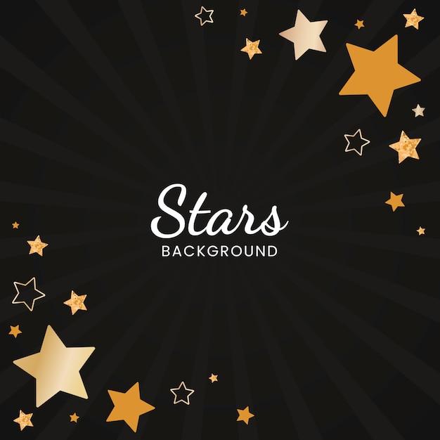 Vecteur de conception fond festif étoiles Vecteur gratuit
