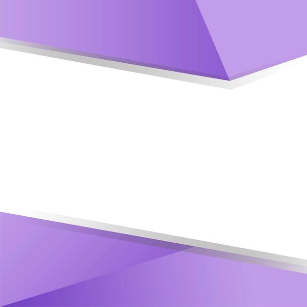Vecteur de conception fond géométrique violet Vecteur gratuit