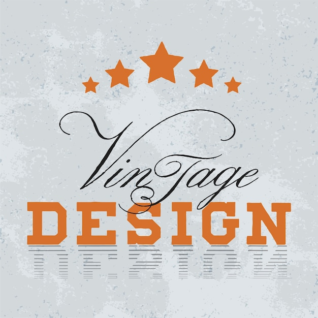 Vecteur de conception de logo de maquette vintage Vecteur gratuit