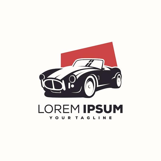 Vecteur de conception de logo de voiture Vecteur Premium