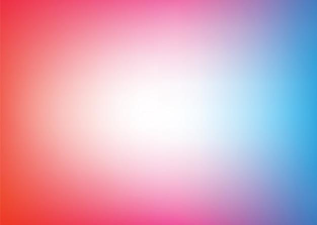 Vecteur de couleur abstraite floue fond dégradé. Vecteur Premium