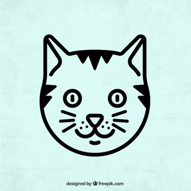 Vecteur d 39 art de chat t l chargement gratuit t l charger des vecteurs gratuitement - Telecharger image de chat gratuit ...