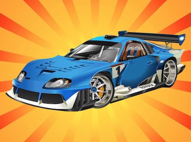 Vecteur de voiture de course toyota t l charger des vecteurs gratuitement - Image voiture de course ...