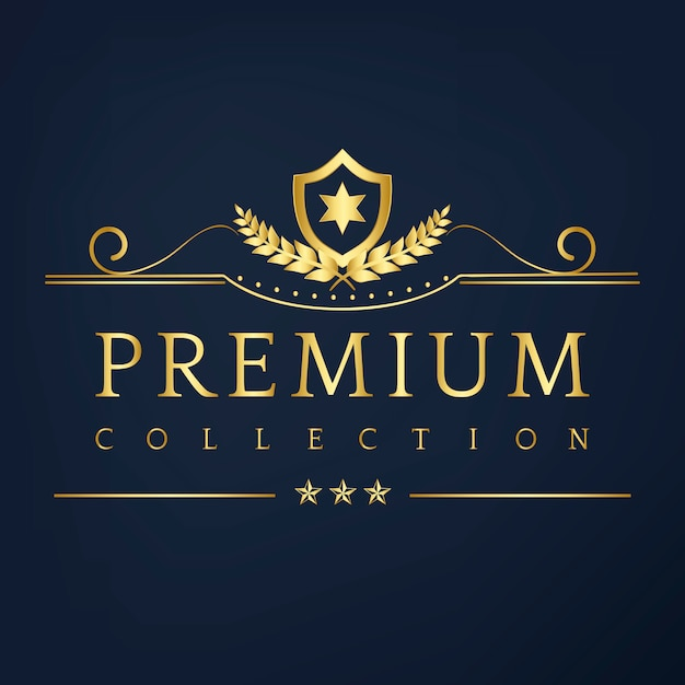 Vecteur De Design Badge Collection Premium Vecteur gratuit
