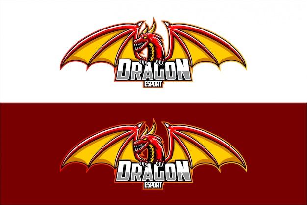 Vecteur De Dragon Vecteur Premium