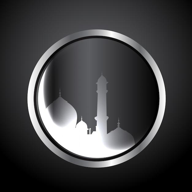 Vecteur festival musulman eid ul fitar background Vecteur gratuit