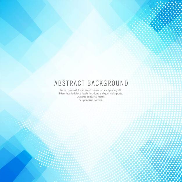 Vecteur de fond abstrait polygone bleu Vecteur gratuit