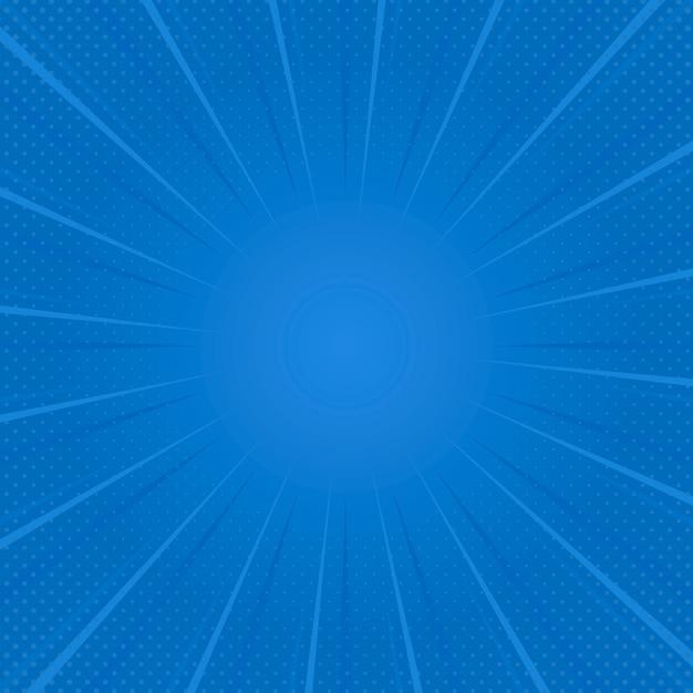 Vecteur de fond bleu demi-teinte dégradé Vecteur gratuit