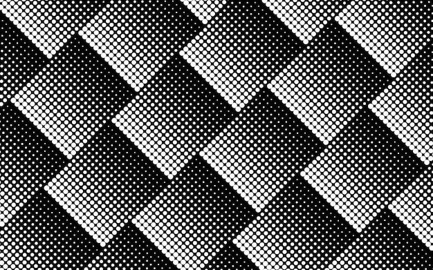 Vecteur de fond de demi-teintes noir et blanc Vecteur gratuit