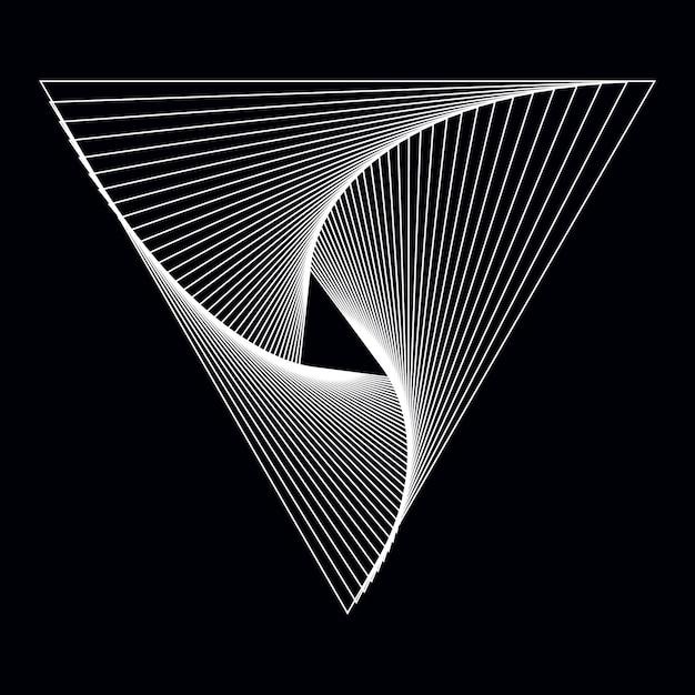 Vecteur de fond d'écran abstrait dynamique Vecteur gratuit