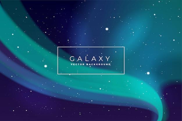 Vecteur de fond de galaxie Vecteur Premium