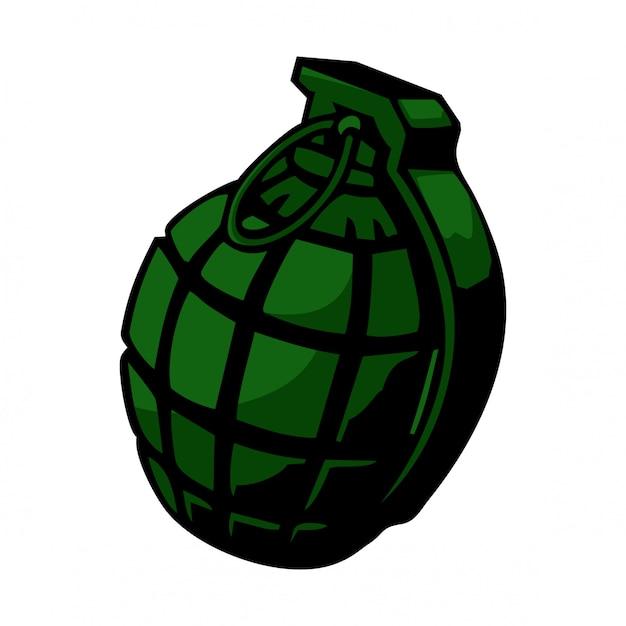 Vecteur de grenade Vecteur Premium