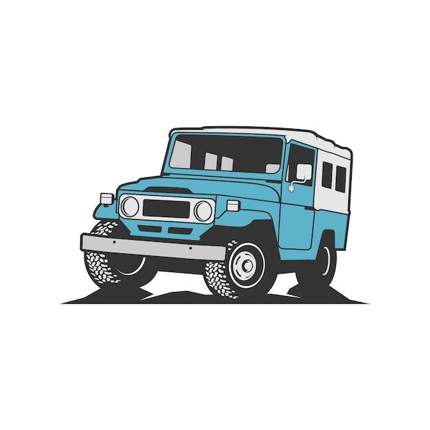 Vecteur Jeep Vecteur Premium