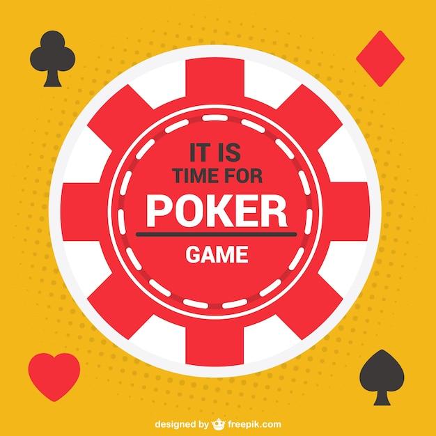 Vecteur de jeton de poker Vecteur gratuit