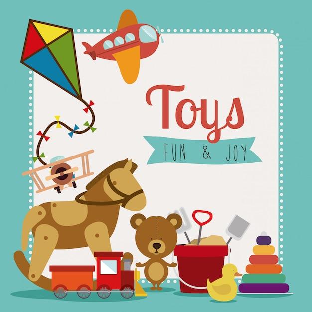 Vecteur de jouets Vecteur Premium