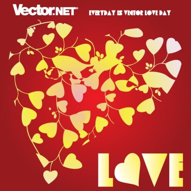 Vecteur Libre Coeur D Amour Télécharger Des Vecteurs