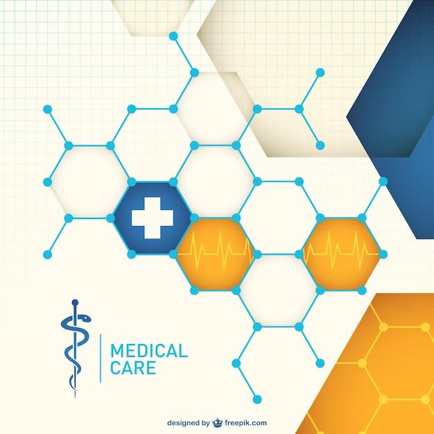 Vecteur libre médicaux résumé Vecteur gratuit