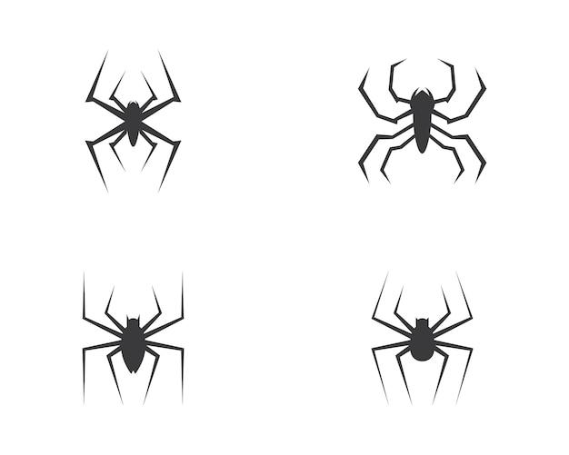 Vecteur de logo d'araignée Vecteur Premium