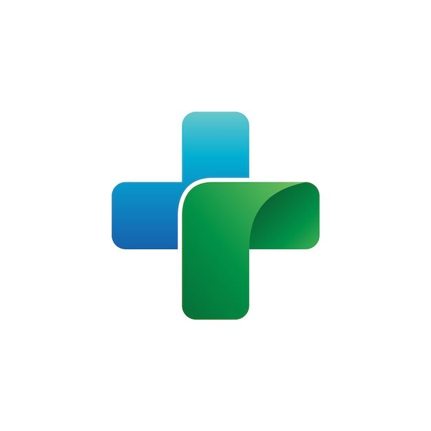 Vecteur de logo médical Vecteur Premium