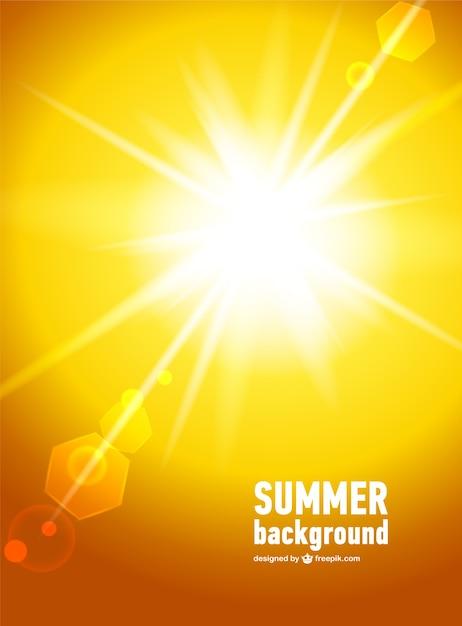 Vecteur De La Lumière Du Soleil Vecteur gratuit