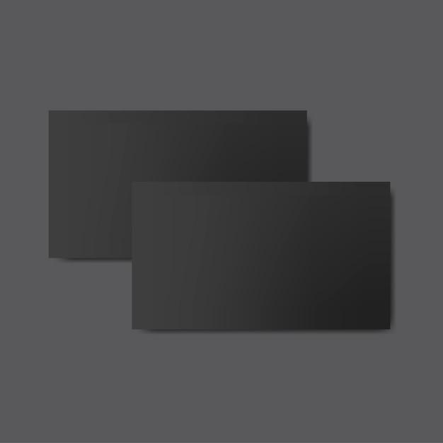 Vecteur de maquette de conception de carte de visite Vecteur gratuit