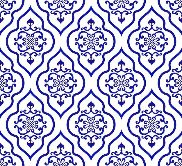 Vecteur de modèle islamique Vecteur Premium