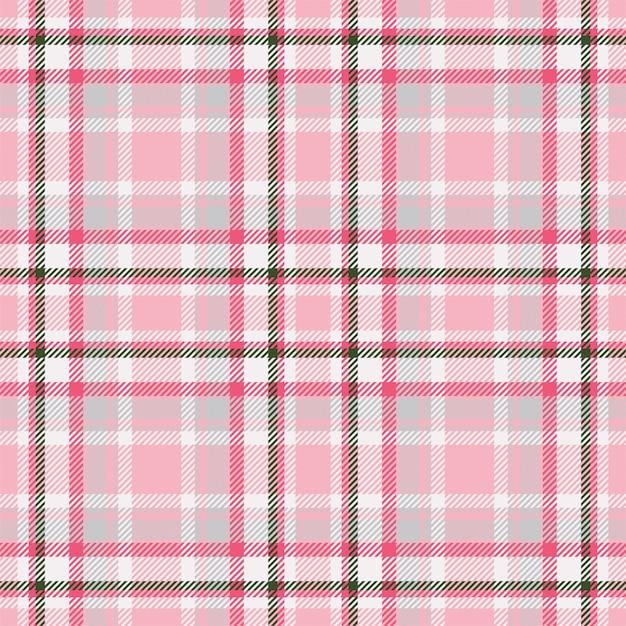 Vecteur De Motif écossais Sans Couture Ecosse Tartan. Tissu De Fond Rétro. Texture Géométrique Carrée De Couleur Vintage Check. Vecteur Premium