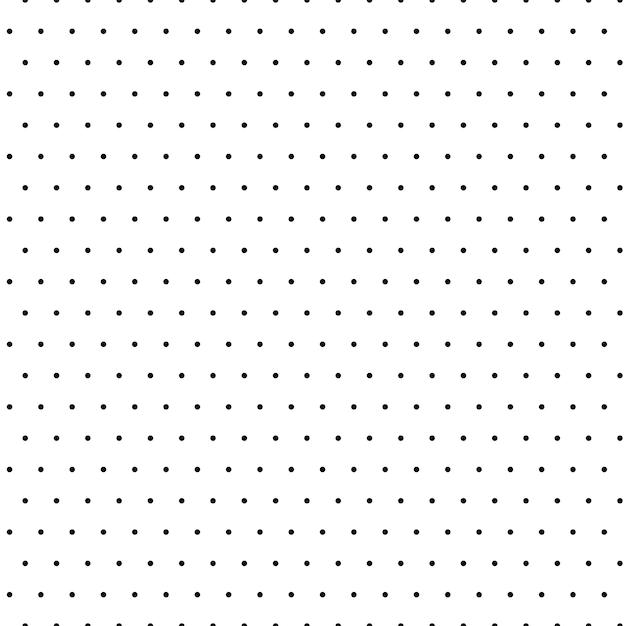 Vecteur Polka Fond Avec Des Petits Points Vecteur gratuit
