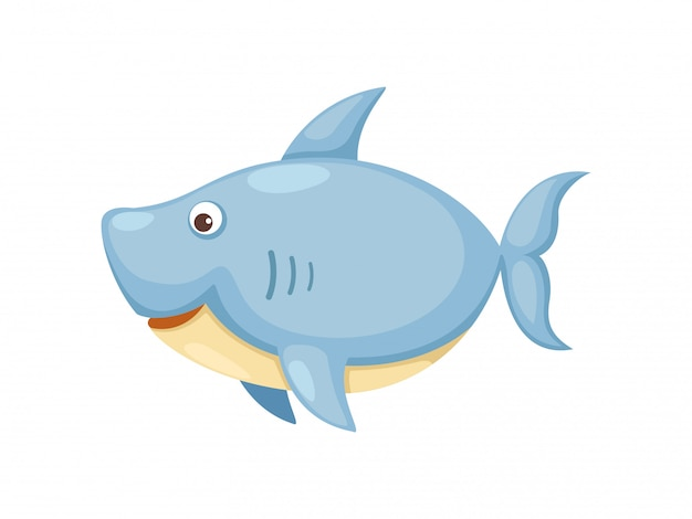Vecteur requin Vecteur Premium