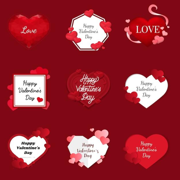 Vecteur de la saint-valentin le 14 février Vecteur gratuit
