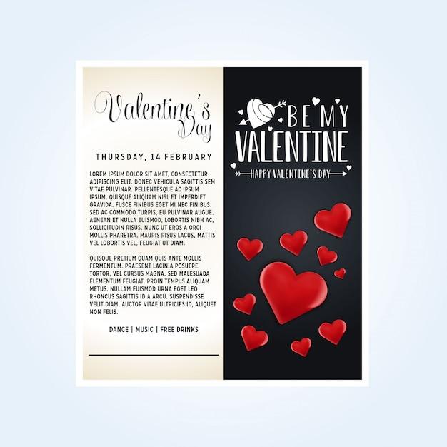 Vecteur saint valentin Vecteur gratuit