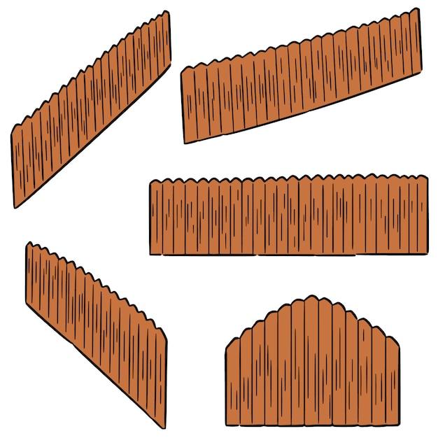 Vecteur série de clôture Vecteur Premium