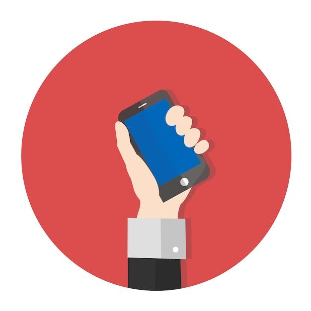 Vecteur de smartphone Vecteur gratuit