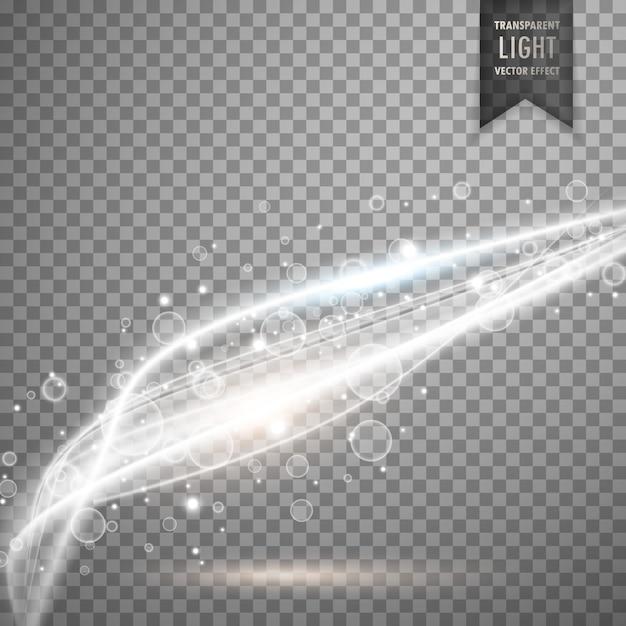Vecteur super fond transparent de lumière blanche Vecteur gratuit