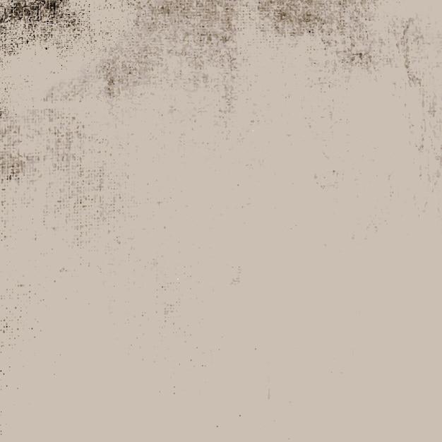 Vecteur de texture en détresse grunge beige Vecteur gratuit